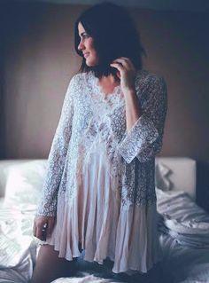 Lace Flowy Dress