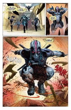 UNCANNY X-FORCE #1 Written by Rick Remender Art by Jerome Opena Colors by Dean White