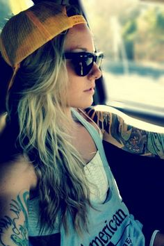 tattoos... uhhh can i be her?