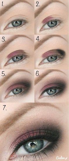 Codzienny makijaż - krok po kro