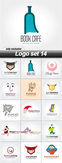 Download Free Logo set 14 - 15 EPS