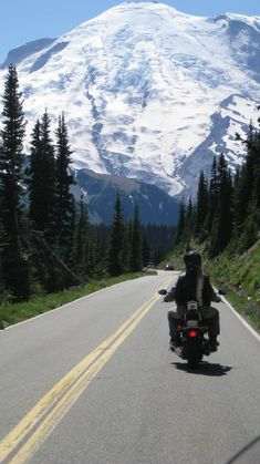 Mt. Rainier...an awesome motorcycle ride destination!