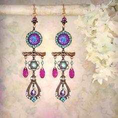 Nightbloom Earrings by MiaMontgomery