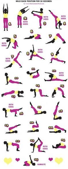 Yoga! Fitness blog