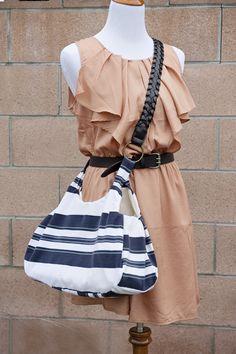 Bag made out of a shirt DIY via Fab You Bliss