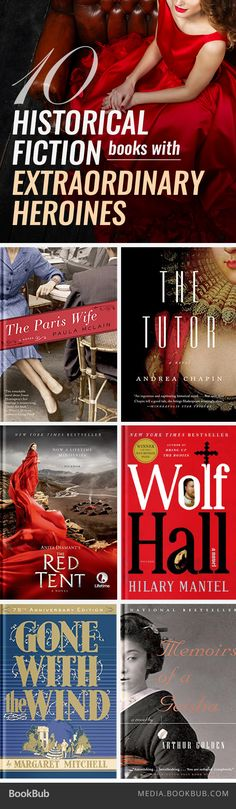 10 historical fiction books with extraordinary heroines.