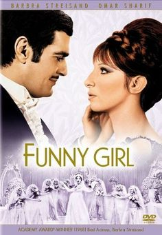 """Funny Girl """"The life of comedienne Fanny Brice, from her early days in the Jewish slums of the Lower East Side, to the height of her career with the Ziegfeld Follies, including her marriage to and eventual divorce from Nick Arnstein. Film Musical, Film Music Books, Film Movie, Musical Theatre, Funny Girl Movie, Love Movie, Funny Lady, Funny Girl Musical, Funny Girls"""