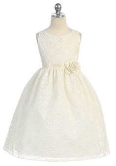Flower girl dress. This would have too be in pastel pink or mint green.