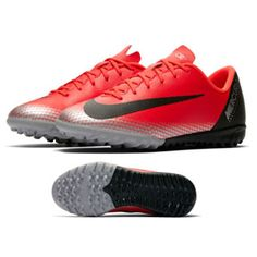 05cfe4192d7 Nike Youth CR7 MercurialX Vapor XII Academy Turf Shoes (Red)    SoccerEvolution