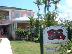 Wally's   Marsh Harbour  Abacos Bahamas- Wonderful people and you have to have a Wally drink!