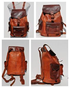 Leather BACKPACK -  etzy