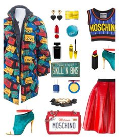 """""""Perfect Puffer Jackets"""" by beleev on Polyvore featuring Yves Saint Laurent, Marc Jacobs, Moschino, Christian Louboutin, Rodin, Narciso Rodriguez, Maybelline, Rodial, Essie and MAC Cosmetics"""