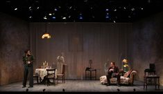 The Glass Menagerie. Seattle Repertory Theatre. Scenic design by Mikiko Suzuki MacAdams. Lighting by L B Morse. 2012