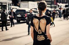 Lady Derringer @ NYFW 2013 #SKULL #DESIGN