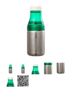 Korea Starbucks 2015 Summer Sunny silver water bottle 500ml Green Stainless 2ea #Starbucks