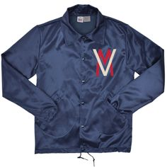 Vancouver Mounties Vintage Satin Windbreaker  : Hand crafted in the USA by Ebbets Field Flannels