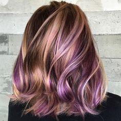 "12.6k Likes, 578 Comments - American Salon (@american_salon) on Instagram: ""Ribbons of rose gold by @hairhunter #regram @butterflyloftsalon #americansalon """