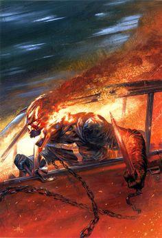 Ghost Rider #1 Variant - Gabriele Del'Otto