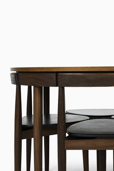 Hans Olsen dining set model Roundette by Frem Røjle at Studio Schalling