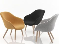 Hay About a Lounge Chair AAL82 3d model | Hee Welling