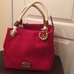 Michael Kors Marina medium grab bag Michael Kors Marina medium grab bag in red. Sorry I don't trade. Michael Kors Bags Satchels