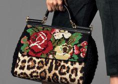 Dolce & Gabbana flower print fashion...