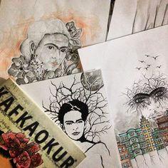 #art #illustration #drawing #draw #fridakahlo #picture #artist #sketch #sketchbook #paper #pen #pencil #artsy #instaart #beautiful #instagood #gallery #masterpiece #creative #photooftheday #instaartist #graphic #graphics #artoftheday