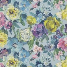 Click To Zoom In - Designers Guild Roseto Celadon PDG675-01