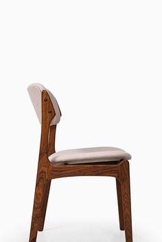 Erik Buck dining chairs model OD-49 at Studio Schalling