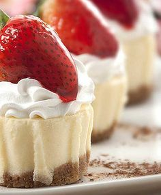 Recipe for Mix and Match Mini Cheesecakes