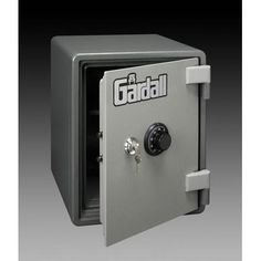 Gardall One-Hour Fireproof Record Safe with Mechanical Lock Size: Small