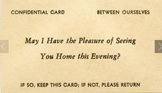 Flirt cards from the 1800's (Photo : Alan Mays)