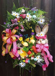 Grapevine Easter Bunny wreath by Southern Gal Motifs!Check out this item in my Etsy shop https://www.etsy.com/listing/271966330/easter-wreath-easter-wreaths-spring
