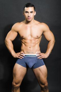 Topher DiMaggio - Andrew Christian bulge #bigbulge #hotstud