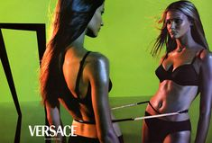 You are interested in Carmen Kass for Versace - Ad Campaign? Fashion ads, pictures, prints and advertising with Carmen Kass for Versace - Ad Campaign can be found here. Carmen Kass, Catherine Mcneil, Steven Meisel, Rosie Huntington Whiteley, Kate Moss, Angela Lindvall, Campaign Fashion, 1999 Fashion, Vintage Versace