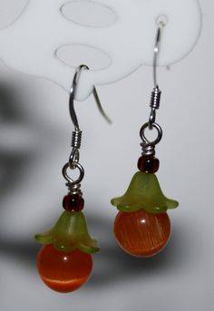 Halloween Earrings on Pinterest | Halloween Jewelry, Braided ...