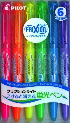 Erasable Highlightersare a new addition to my studio. I like to use them when I'm having my students highlight something themselves. That way if they make an error it's easy to change. And yes, they really DO erase!