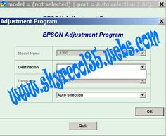 Epson L1300 - L1800 Resetter   Reset Epson Service Required Problem  Download Here