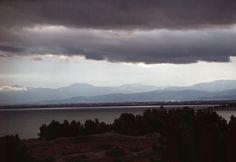 1982-Argeles-sur-Mer.-All'orizonte i pirenei Catalani