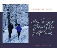how to keep motivated on winter runs   Runs With Pugs Winter Running, Pugs, Cold, Motivation, Movie Posters, Film Poster, Pug Dogs, Billboard, Film Posters