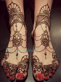 Eid mehndi designs for feet