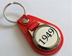 Nice Birthday Gift 1956 Lucky Sixpence /& Horseshoe Charm Keyring