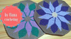 Tapestry crochet 1 video - free pattern