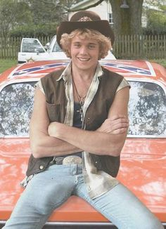 John Schneider aka Bo Duke - we used to kiss the television when he came on screen.