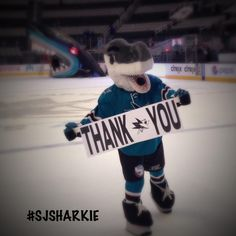 #ThankYou #SJSharks fans! See you around town :)