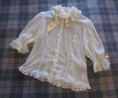 angelic pretty chiffon blouse