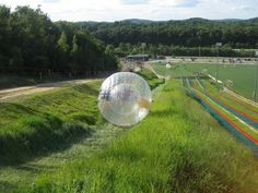 Places for Zorbing