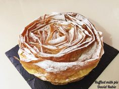 Ruffled Milk Pie (Pastel de leche rizado) | Cocina Pie Recipes, Sweet Recipes, Dessert Recipes, Desserts, Cake Cookies, Cupcake Cakes, Cup Cakes, Milk Cake, Gastronomia