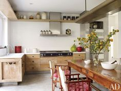 Rustic Kitchen by Isay Weinfeld in São Paulo, Brazil