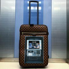 "Louis Vuitton Luggage by Art Buro ""Make 1t Easy"". www.artburo.com"